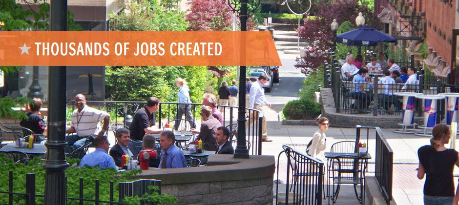 Thousands of Jobs Created