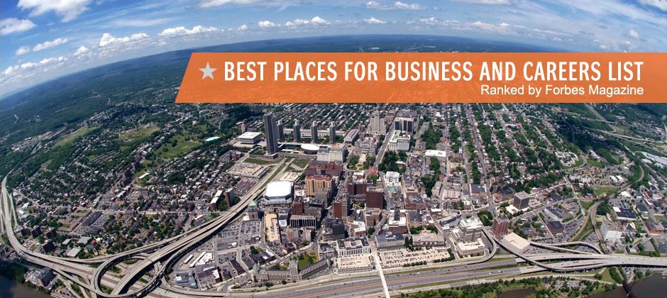 Best Places for Business and Careers List Ranked by Forbes Magazine