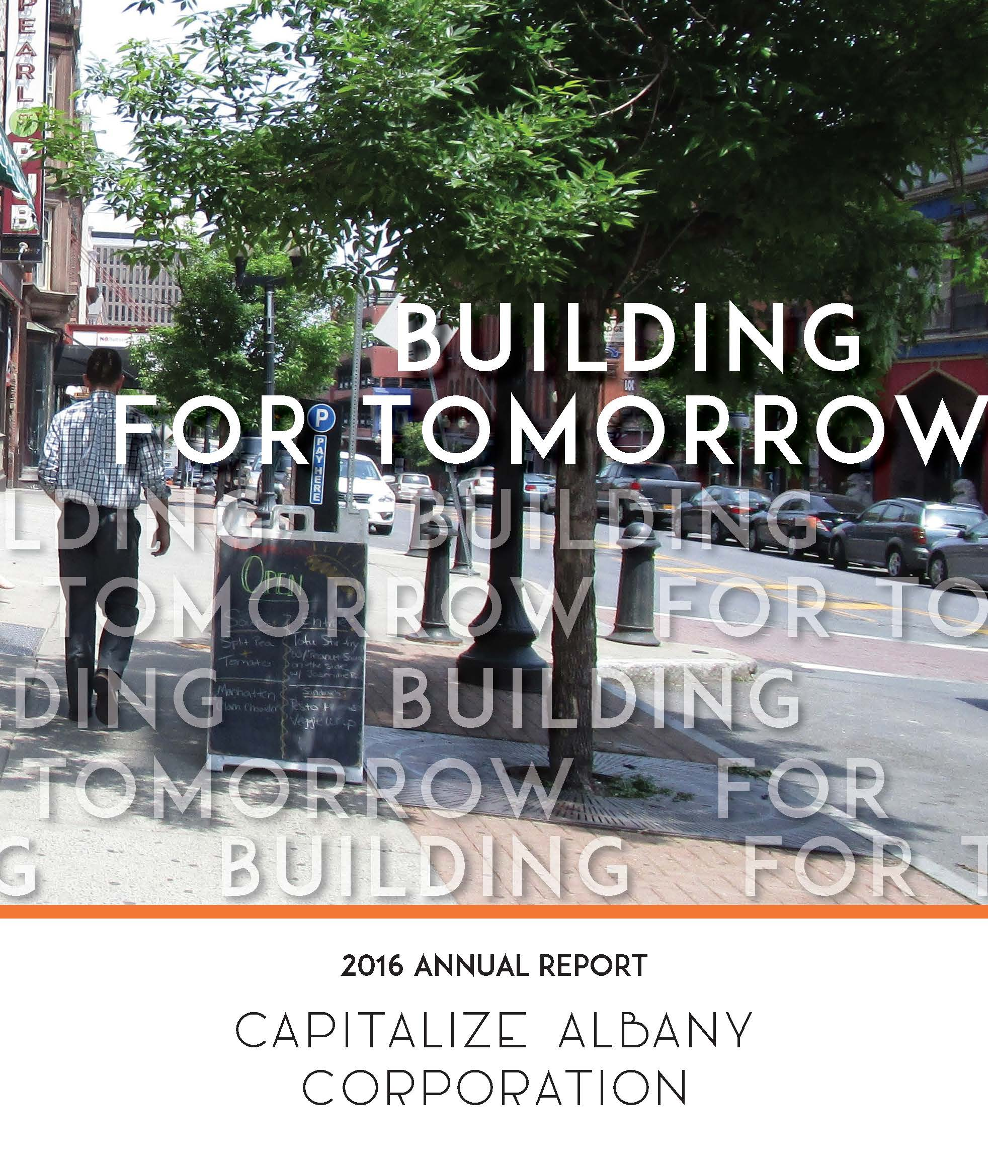 Capitalize Albany 2016 Annual Report