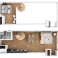 kenmore studio floor plan