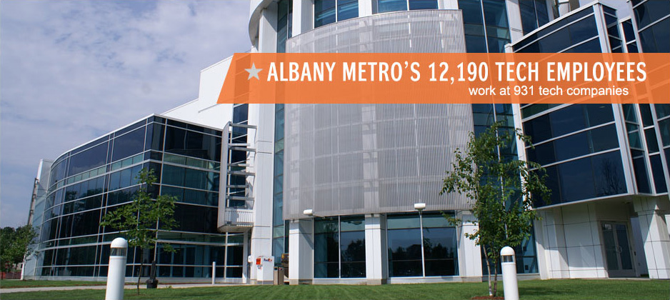 Albany Metro's 12,190 Tech Employees work at 931 tech companies