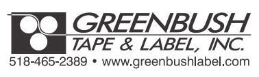 Greenbush Tape and Label Logo