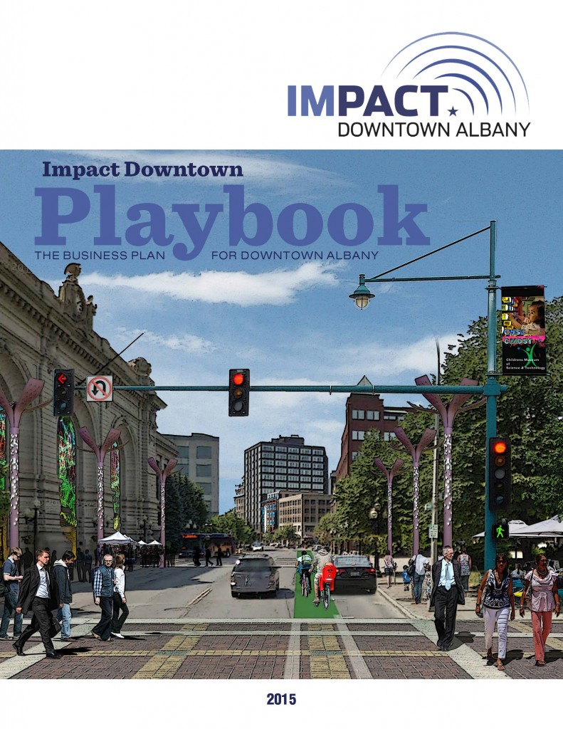 Impact Downtown Albany Playbook - Cover