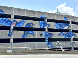Albany Mural - Albany Parking Authority