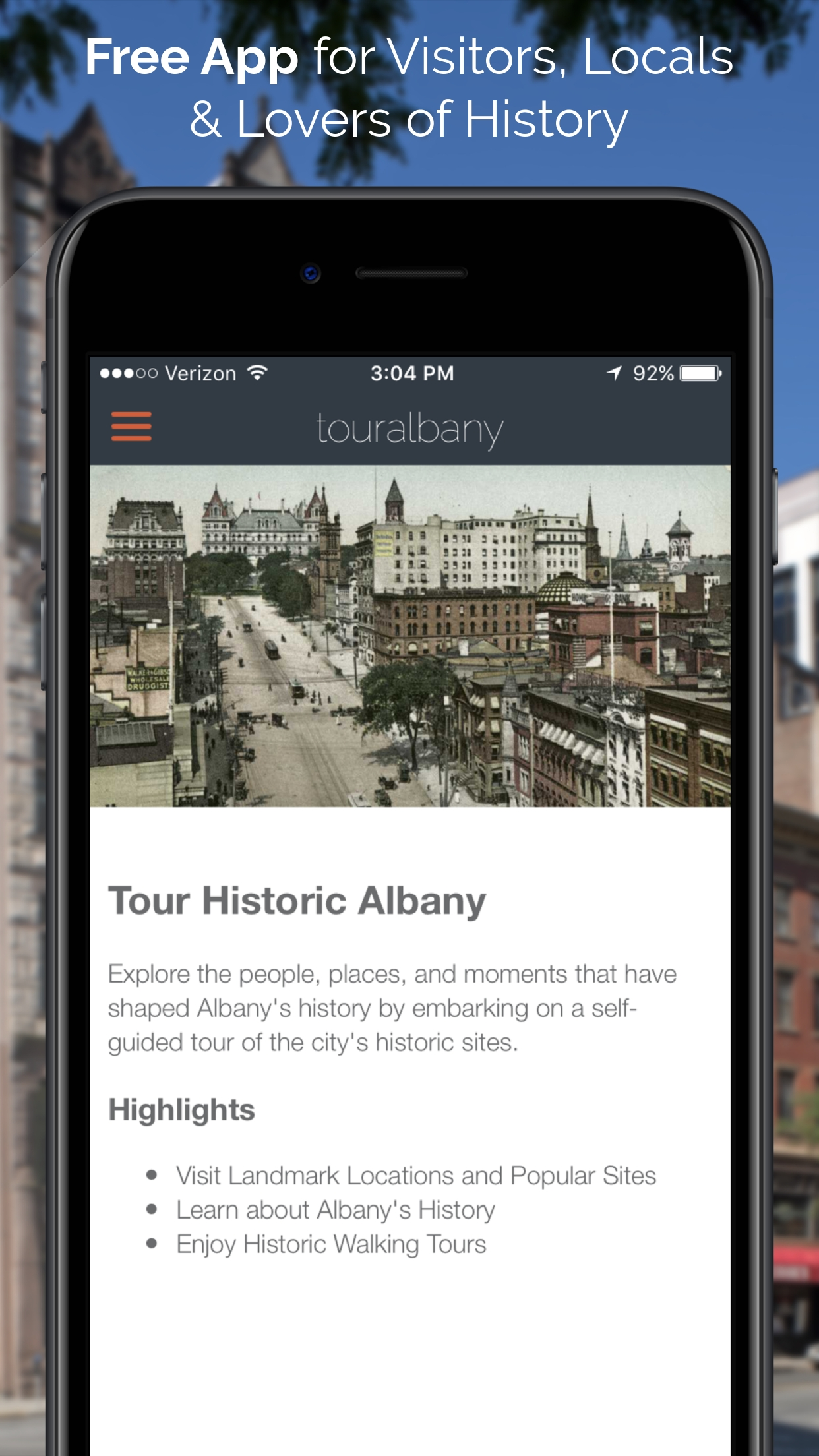 Mobile App Creates A New Way to Explore Albany Neighborhoods